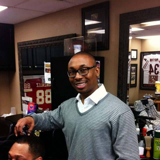 DJ the Barber